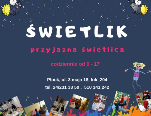 Świetlik – przyjazna świetlica w Płocku